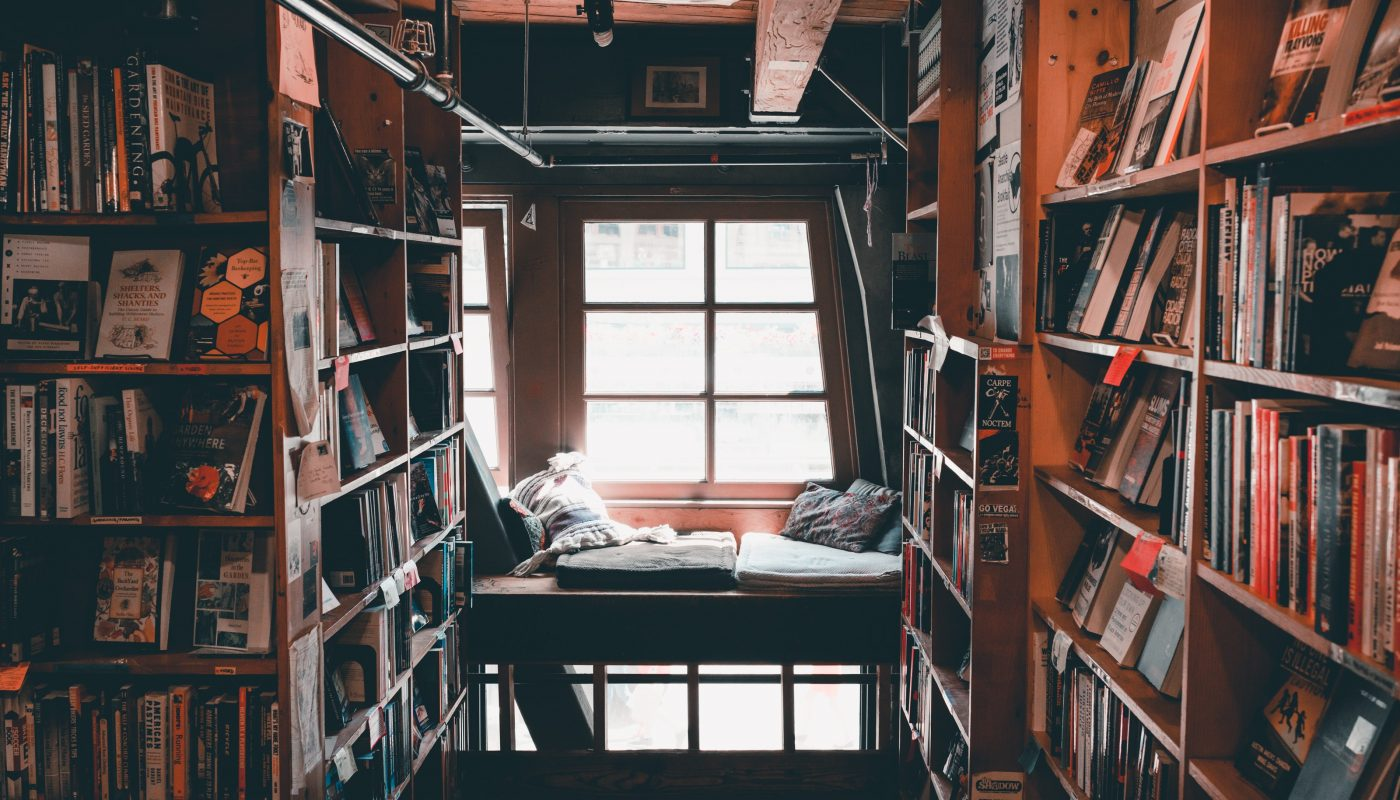Old Room of Books and a Window